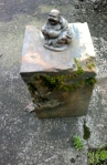 Buddha Sitting on Stone