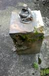 Buddha Sitting on Stone