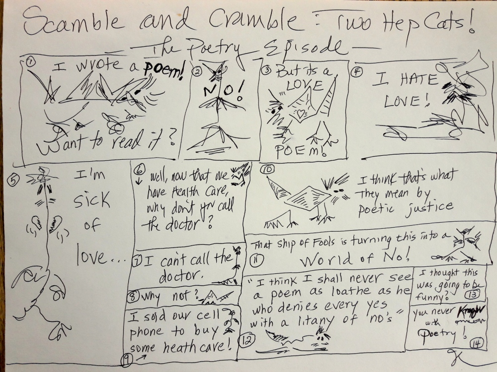 Scamble and Cramble Poetry Episode