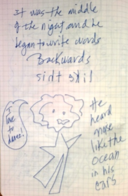 Writing Backwards
