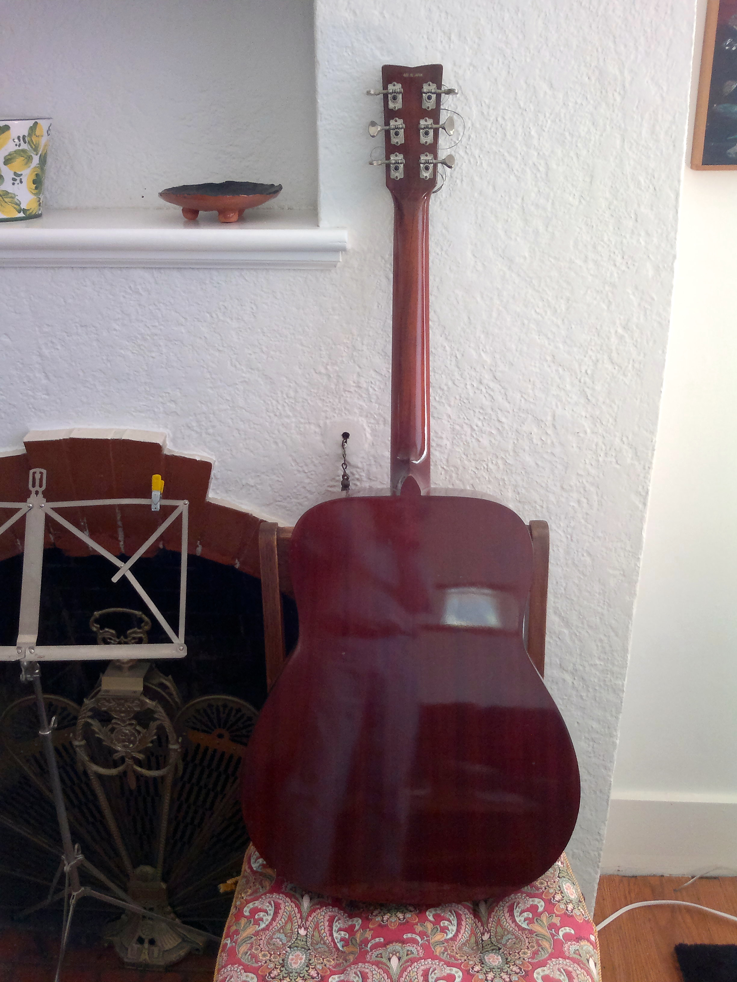 Yamaha Red Label Mfg Guitar For Sale