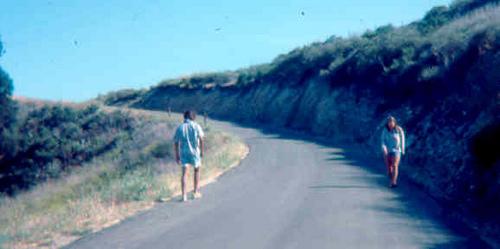 on Refugio road