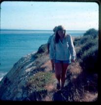 on cliffs above Refugio