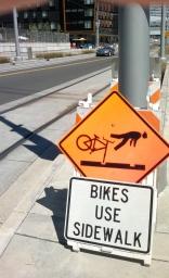 Caution Bikes