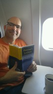 on plane to LA