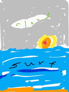cloud surf