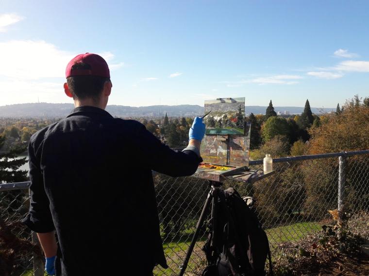 Jonathan Luczycki Mt Tabor 3