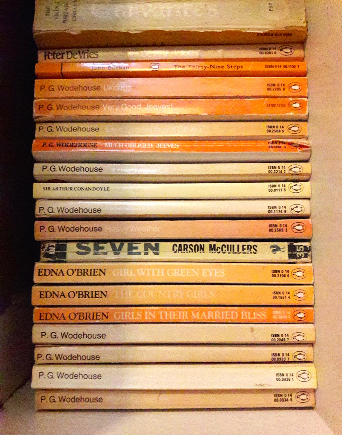 Wodehouse books