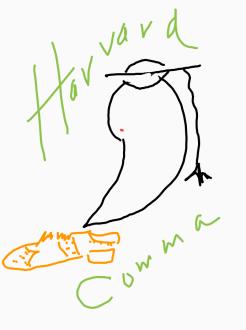 Harvard comma