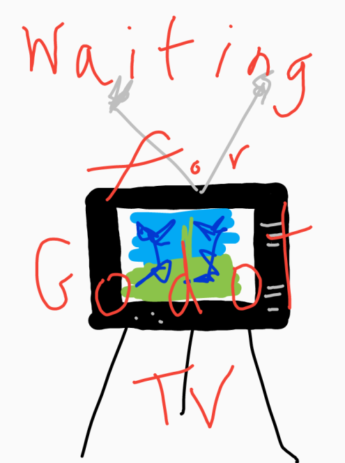 Godot on TV